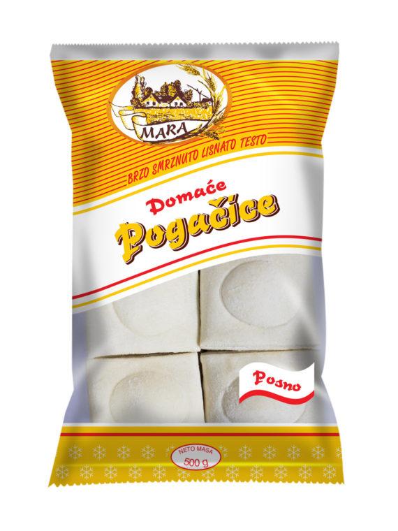 domaće pogačice slano testo